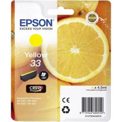 Cartridge do tiskárny Originálna cartridge Epson T3344 (Žltá)