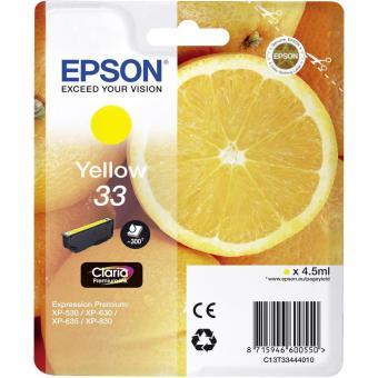 Originálna cartridge Epson T3344 (Žltá)