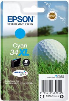 Originálna cartridge EPSON T3472 (Azúrová)
