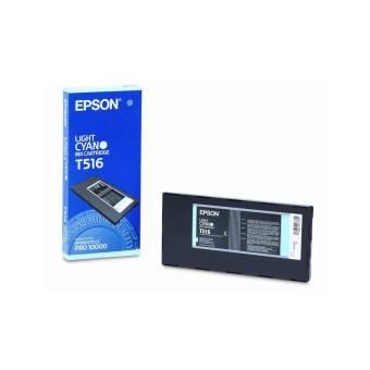 Originálna cartridge EPSON T516 (Svetlo azúrová)