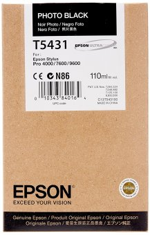 Originálná cartridge EPSON T5431 (Foto čierna)