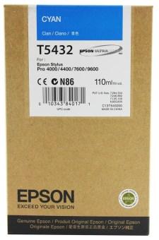 Originálná cartridge EPSON T5432 (Azúrová)