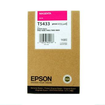 Originálná cartridge EPSON T5433 (Purpurová)