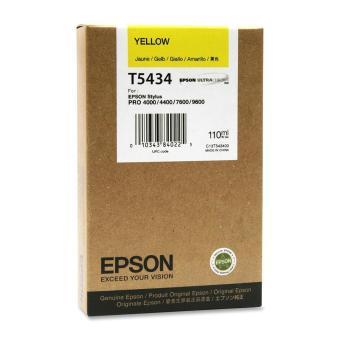 Originálná cartridge EPSON T5434 (Žltá)