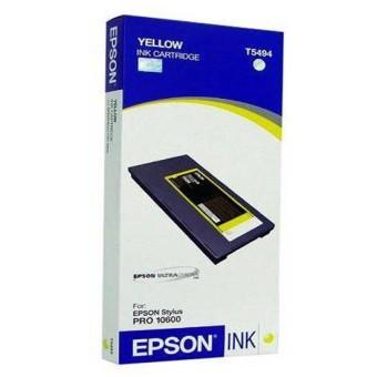 Originálná cartridge EPSON T5494 (Žltá)
