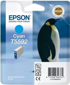 Originálna cartridge EPSON T5592 (Azúrová)