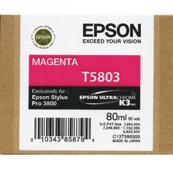 Originálna cartridge EPSON T5803 (Purpurová)