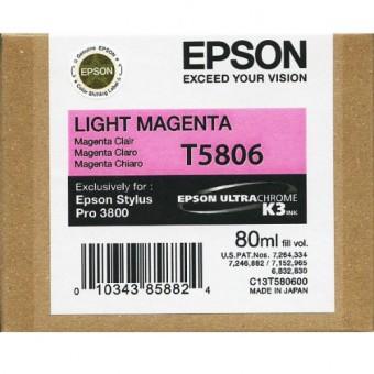 Originálna cartridge EPSON T5806 (Svetlo purpurová)
