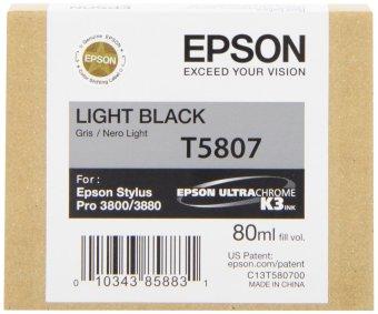 Originálna cartridge EPSON T5807 (Svetle čierna)