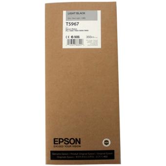 Originálná cartridge EPSON T5967 (Svetlo čierna)
