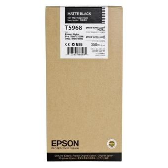 Originálná cartridge EPSON T5968 (Matne čierna)