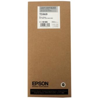 Originálná cartridge EPSON T5969 (Svetlo svetlo čierna)