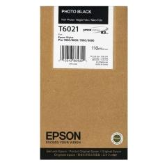 Cartridge do tiskárny Originálna cartridge EPSON T6021 (Foto čierna)