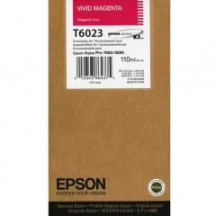Cartridge do tiskárny Originálna cartridge Epson T6023 (Naživo purpurová)