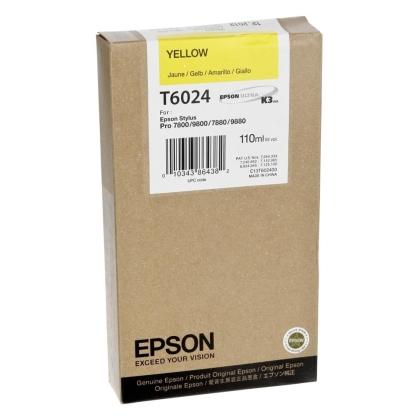 Originálna cartridge EPSON T6024 (Žltá)