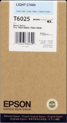 Cartridge do tiskárny Originálna cartridge EPSON T6025 (Svetlá azúrová)