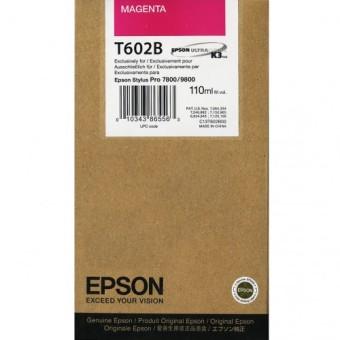 Originálna cartridge EPSON T602B (Purpurová)