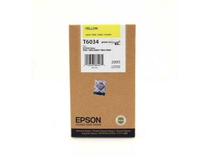 Originálna cartridge EPSON T6034 (Žltá)