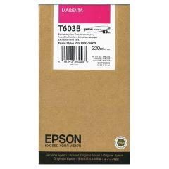 Cartridge do tiskárny Originálna cartridge EPSON T603B (Purpurová)