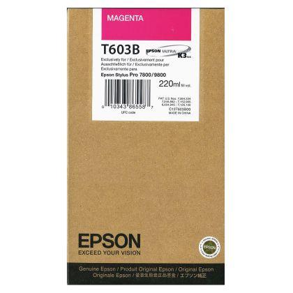 Originálna cartridge EPSON T603B (Purpurová)