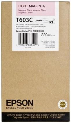 Originálna cartridge EPSON T603C (Svetlo purpurová)