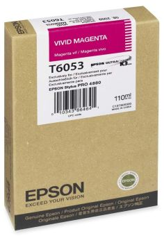 Originálna cartridge EPSON T6053 (Naživo purpurová)