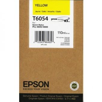Originálna cartridge EPSON T6054 (Žltá)