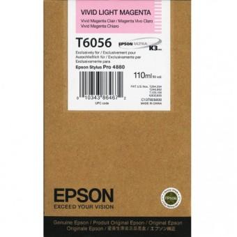 Originálna cartridge EPSON T6056 (Naživo svetlo purpurová)