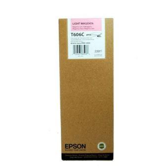 Originálna cartridge EPSON T606C (Svetlo purpurová)