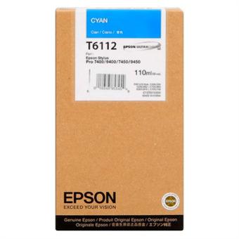 Originálná cartridge EPSON T6112 (Azúrová)