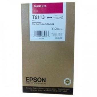 Originálna cartridge EPSON T6113 (Purpurová)