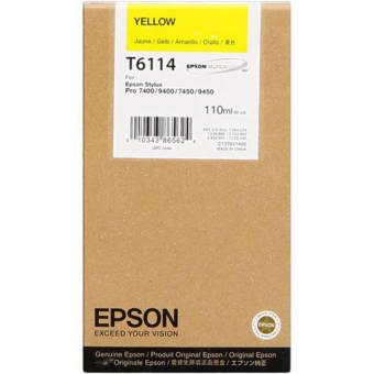 Originálna cartridge EPSON T6114 (Žltá)