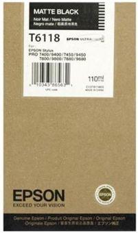 Originálna cartridge EPSON T6118 (Matná čierna)