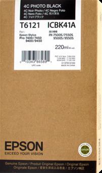 Originálna cartridge EPSON T6121 (Foto čierna)