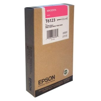 Originálna cartridge EPSON T6123 (Purpurová)