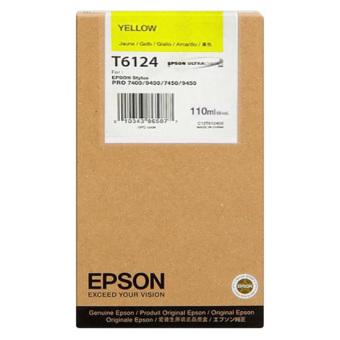 Originálna cartridge EPSON T6124 (Žltá)