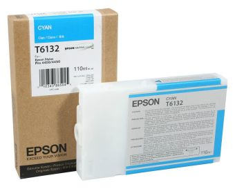 Originálná cartridge EPSON T6132 (Azúrová)