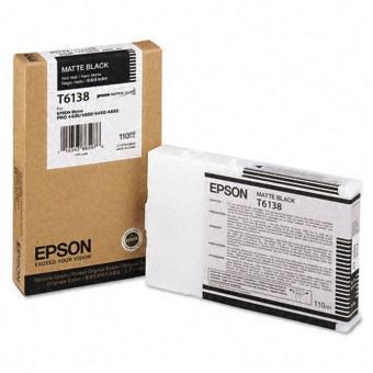 Originálna cartridge EPSON T6138 (Matná čierna)