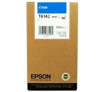 Originálná cartridge EPSON T6142 (Azúrová)