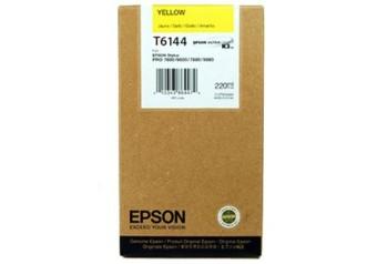 Originálna cartridge EPSON T6144 (Žltá)
