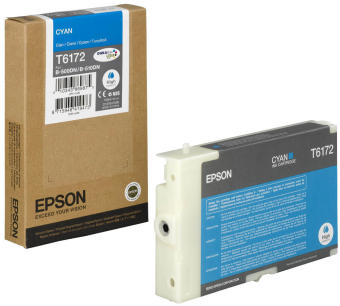 Originálna cartridge EPSON T6172 (Azúrová)
