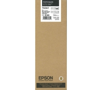 Originálná cartridge EPSON T6361 (Foto čierna)