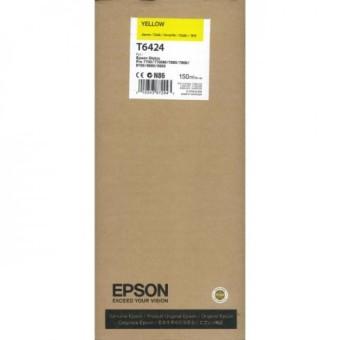 Originálna cartridge EPSON T6424 (Žltá)