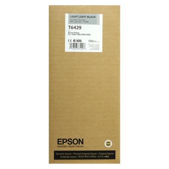 Originálná cartridge EPSON T6429 (Svetlo svetlo čierna)