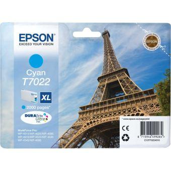 Originálna cartridge EPSON T7022 XL (Azúrová)