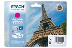 Cartridge do tiskárny Originálna cartridge EPSON T7023 XL (Purpurová)