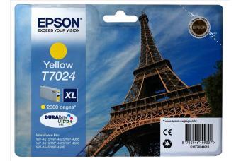 Originálna cartridge EPSON T7024 XL (Žltá)