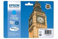Cartridge do tiskárny Originálna cartridge EPSON T7032 L (Azúrová)