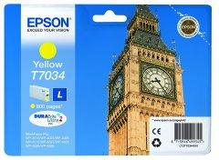 Cartridge do tiskárny Originálna cartridge EPSON T7034 L (Žltá)