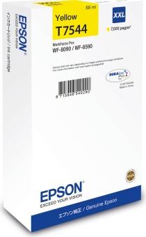 Originálna cartridge Epson T7544 (Žltá)